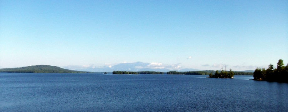 Mt Katahdin and the Appalachian Trail.