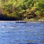 Week-long canoe trips in Maine.