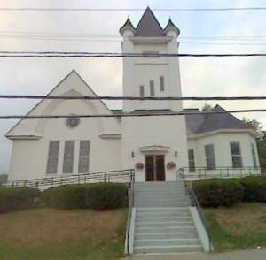 Millinocket's First Congregational Church