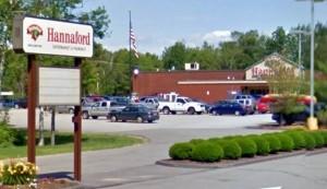 Hannaford Bros. Shopping Center.