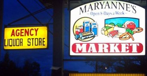 Fresh deli meats at Maryann's Market.