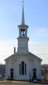 Stetson Memorial United Methodist Church in Patten, Maine.