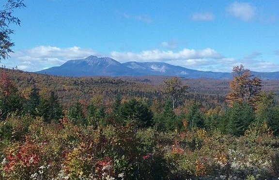Mount Katahdin and Baxter State Park.