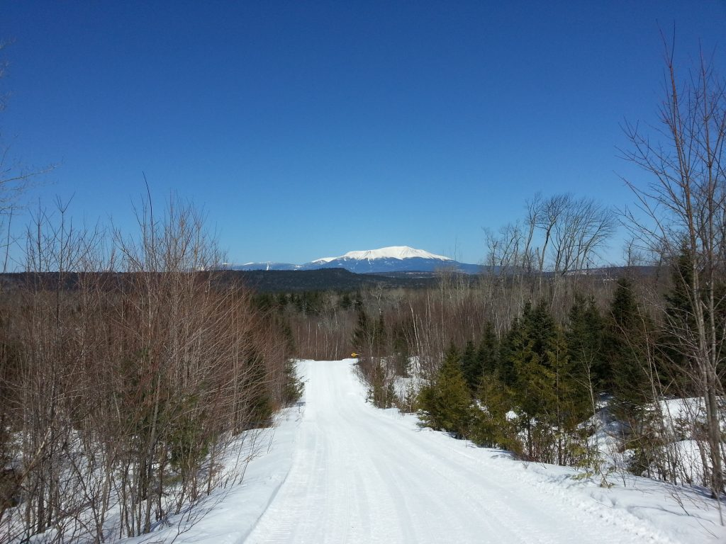 Katahdin Woods and Waters National Monument in Maine offers miles of winter trails to explore