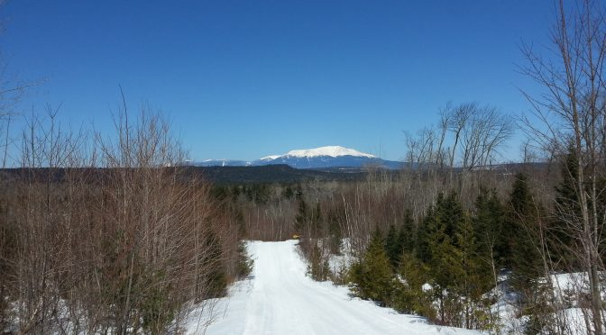 New Winter Photos of Mt Katahdin