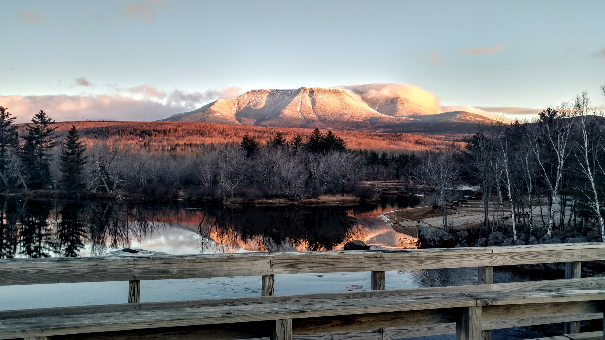 Photo of Mt Katahdin by Keith Dionne