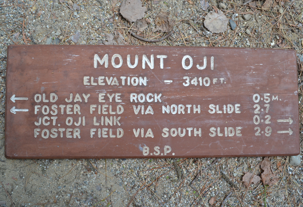 Retired Baxter State Park signs to be auctioned off