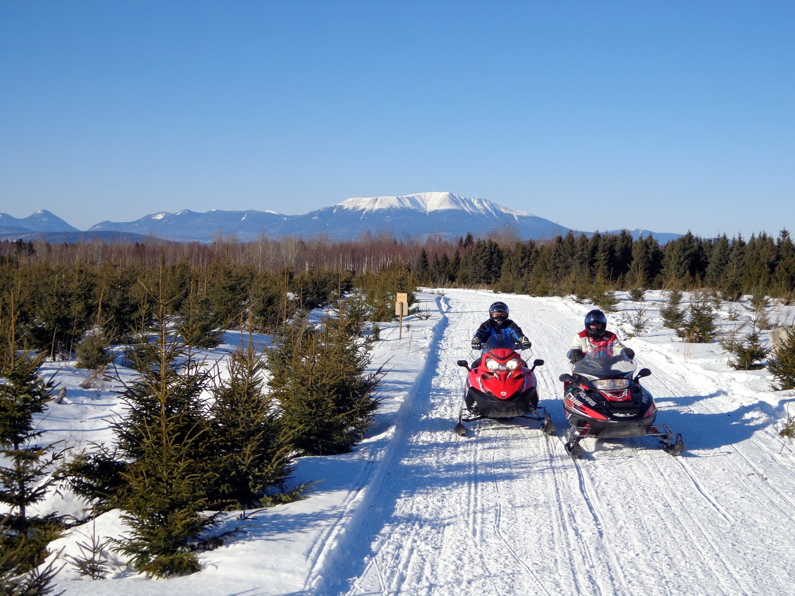 Our Latest Cover Photo – Maine Snowmobiling