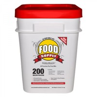 Food Insurance:  Emergency food supply | Ready to go buckets, long term storage.