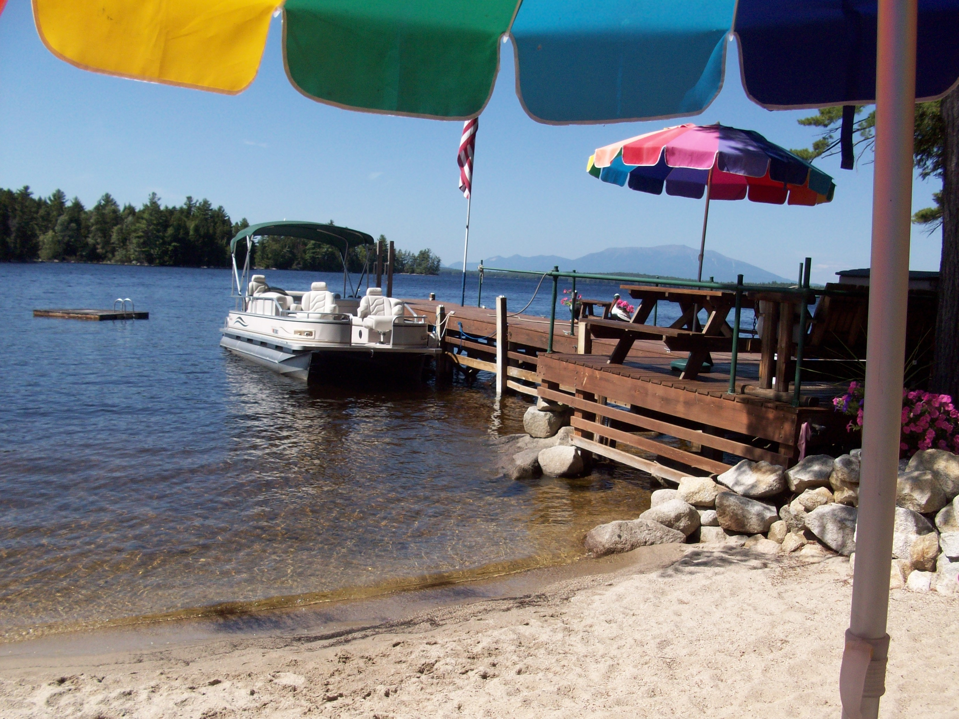 South Twin Lake Beach Bar.
