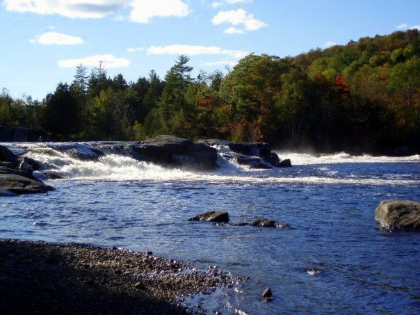 Nesowadnehunk Falls, West Branch, Penobscot River, Maine