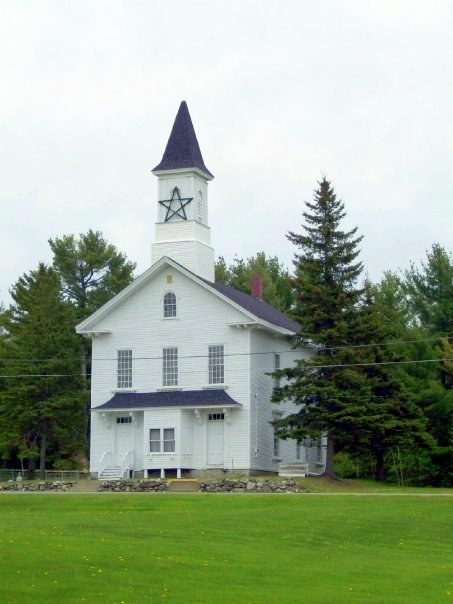 The Old Medway Church - circa 1874 - Medway, Maine