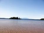 Mount Katahdin from Jo Mary Lake Beach.
