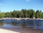 Picture of Abol Falls West Branch Penobscot River.