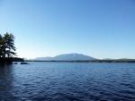 Picture of Mt Katahdin across Ambajejus Lake.
